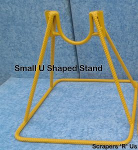 Small U Shaped Concrete Pump Stand