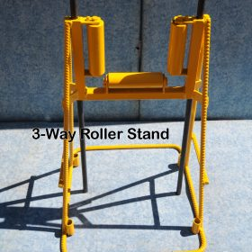 3-Way Roller Concrete Pump Stand