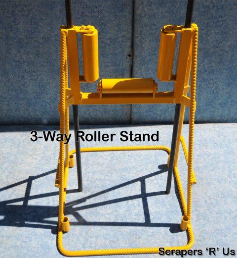3-Way Roller Concrete Pump Stand