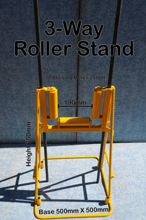 3-Way Roller Stand