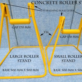 Concrete Pump Roller Stands