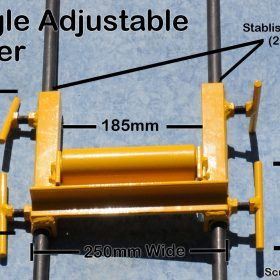 Single Adjustable Concrete Pump Roller