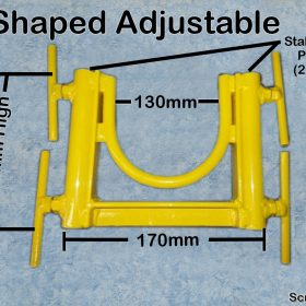 U Shaped Adjustable Concrete Pump Stand