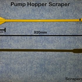 Concrete Pump Hopper Scraper